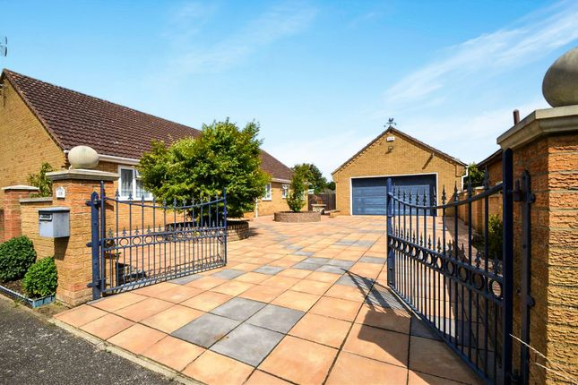 Thumbnail Detached bungalow for sale in Kingsway, Wisbech