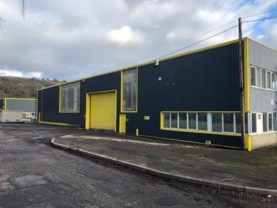 Thumbnail Light industrial to let in Unit 2 Withey Dyffryn Court, Duffyn Industrial Estate, Ystrad Mynach