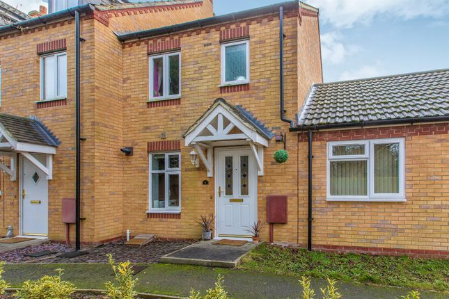 Thumbnail End terrace house for sale in Rushmere Close, Raunds, Wellingborough