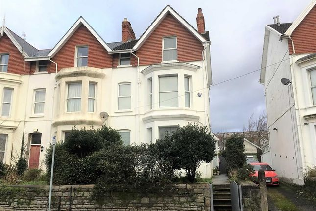 Thumbnail End terrace house for sale in Eaton Crescent, Swansea