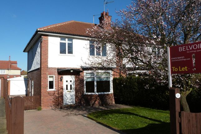 Thumbnail Semi-detached house to rent in St Helens Road, Harrogate