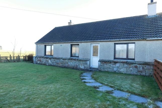 Thumbnail Semi-detached bungalow for sale in Seaforth Place, Dunnet, Thurso