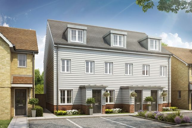 "3 bedroom end terrace house for sale in ""The Souter"" at Rattle Road, Stone Cross, Pevensey"