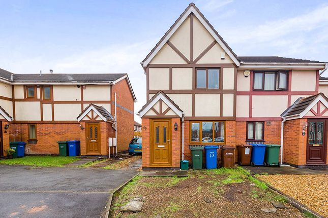 Thumbnail Semi-detached house for sale in Lakeland Gardens, Chorley