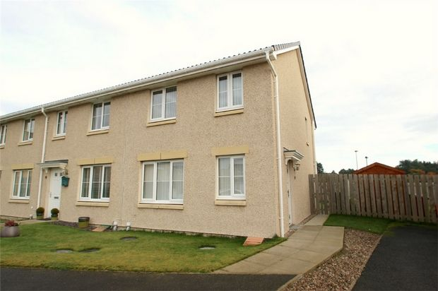 Thumbnail End terrace house to rent in Doocot Court, Elgin, Moray