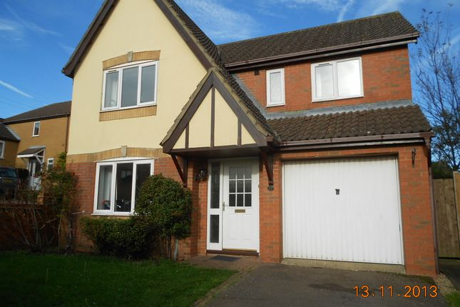 Thumbnail Detached house to rent in Hilltop Drive, Oakham