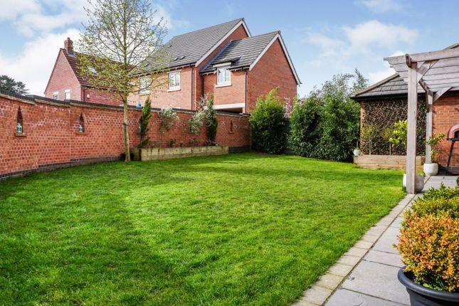 Rear Garden of Flint Lane, Barrow-Upon-Soar, Loughborough LE12