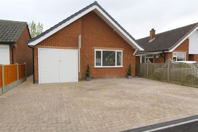 Thumbnail Bungalow for sale in Old Hall Avenue, Duffield, Belper