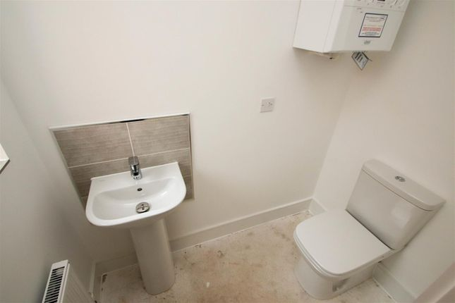 Downstairs WC of The Houghton, Blythe Fields, Blythe Bridge ST11