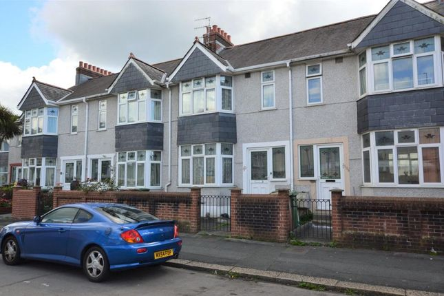 Thumbnail Terraced house for sale in Mainstone Avenue, Plymouth, Devon