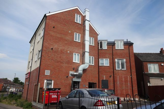 Thumbnail Flat to rent in Carter Road, Stoke