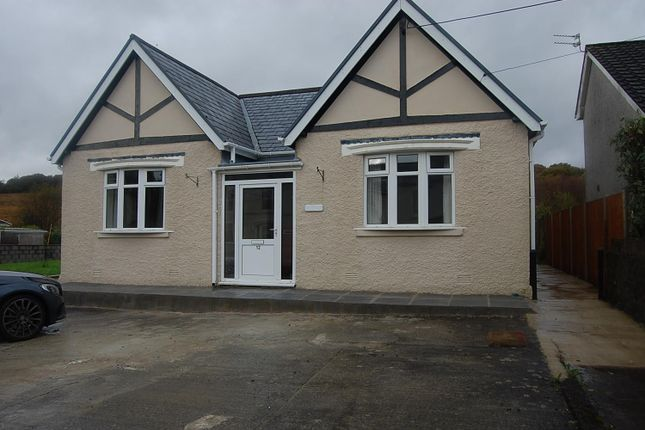 Thumbnail Detached bungalow to rent in Folland Road, Glanamman, Ammanford