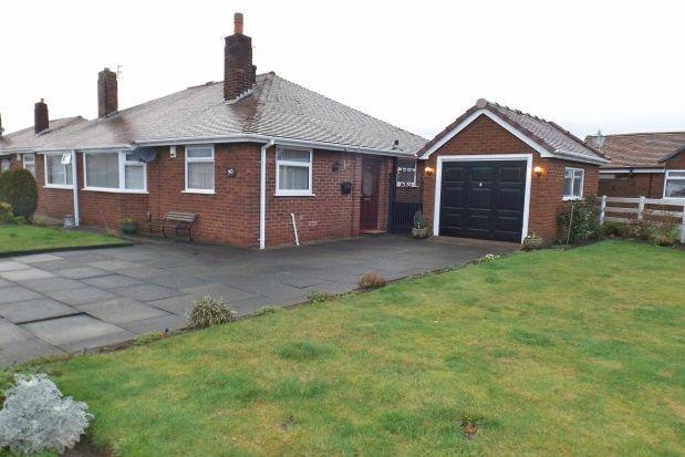 Thumbnail Semi-detached bungalow to rent in Birchdale Road, Warrington