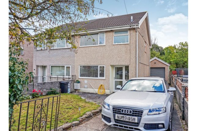 Thumbnail Semi-detached house for sale in Cae Felin Parc, Hirwaun, Aberdare