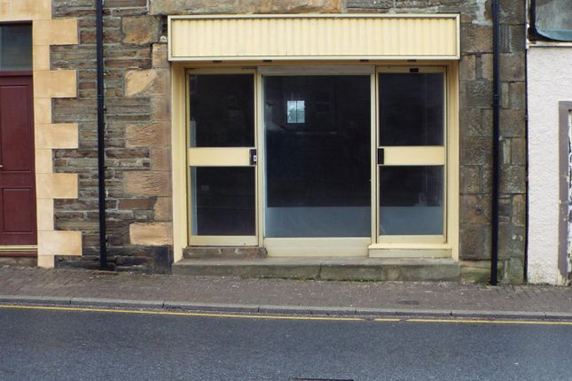 Thumbnail Commercial property for sale in Olrig Street, Thurso