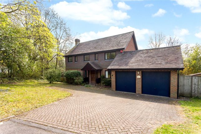 Thumbnail Detached house for sale in Kerrfield, Winchester, Hampshire