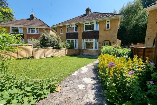 Thumbnail Semi-detached house for sale in Entry Hill Gardens, Bath