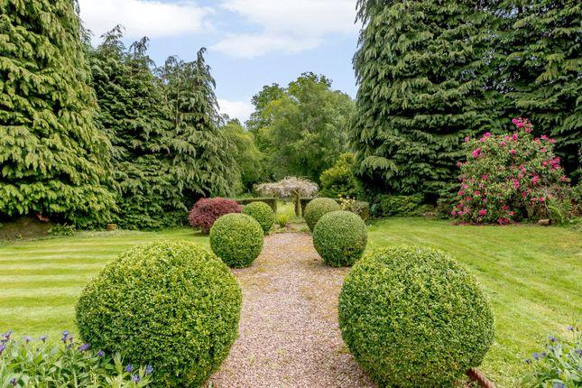 Garden of Linden Park, Auchterarder, Perthshire PH3