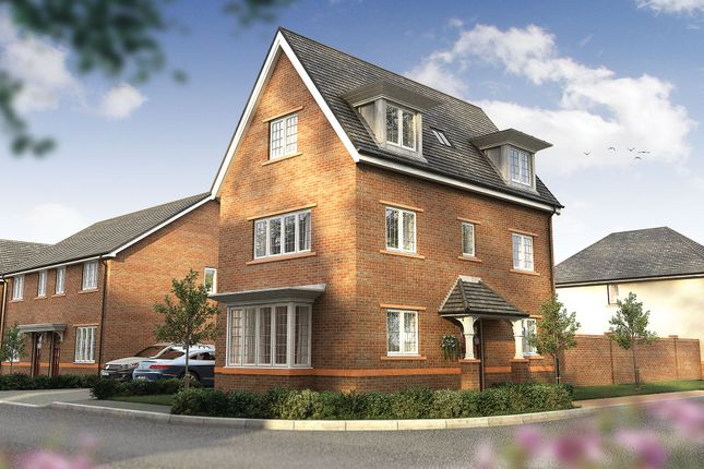 "Thumbnail Detached house for sale in ""The Medina"" at Wood Lane, Binfield, Bracknell"