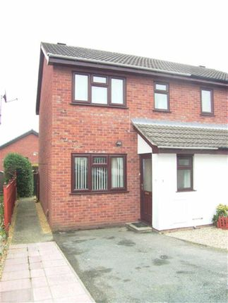 Thumbnail Semi-detached house to rent in 5, Bluebell Close, Welshpool, Powys