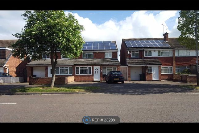 Thumbnail Semi-detached house to rent in Jacklin Drive, Leicester