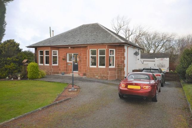 Thumbnail Detached bungalow for sale in Coalhall, Ayr