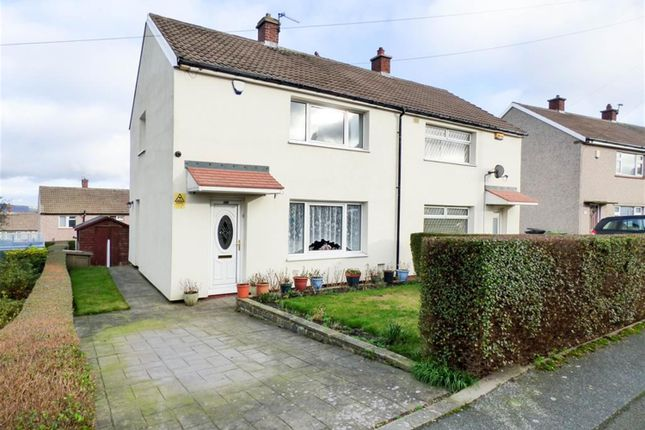 Thumbnail 2 bed semi-detached house for sale in Balmoral Avenue, Crosland Moor, Huddersfield