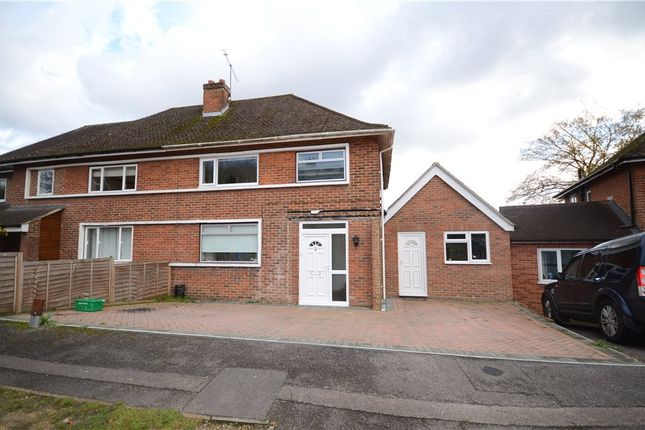 Thumbnail Semi-detached house for sale in Fernhill Close, Farnborough, Hampshire