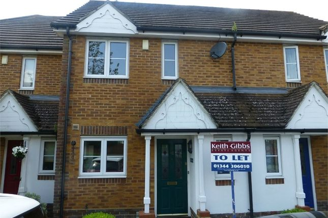 Thumbnail Terraced house to rent in Lyon Oaks, Warfield, Berkshire