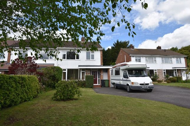 Thumbnail Semi-detached house for sale in Charnhill Vale, Mangotsfield, Bristol