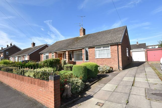 Thumbnail Semi-detached bungalow to rent in Valley Road, Weston Coyney, Stoke-On-Trent