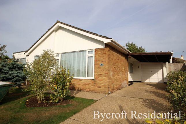 Thumbnail Detached bungalow for sale in Claymore Gardens, Ormesby, Great Yarmouth