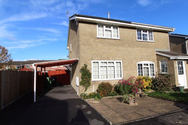 Thumbnail Semi-detached house for sale in Breaches Gate, Bradley Stoke, Bristol