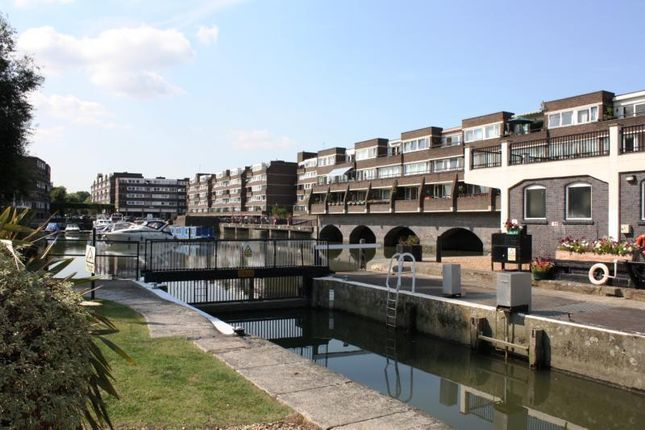 Thumbnail Flat for sale in Nero Court, Justin Close, Brentford Docks