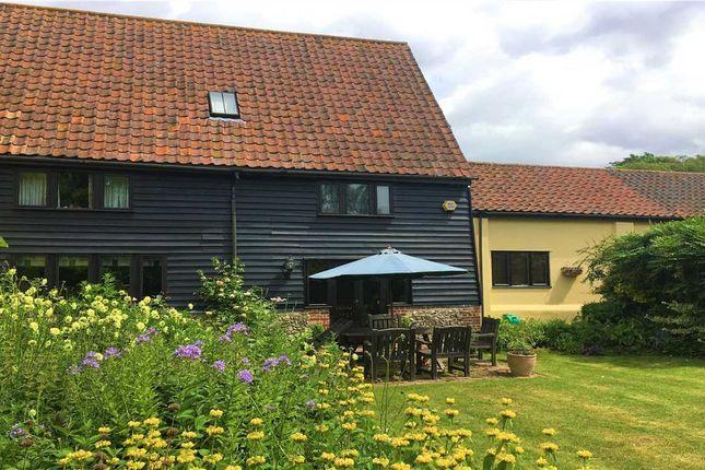 Thumbnail Barn conversion for sale in Coney Weston Road, Barningham, Bury St. Edmunds