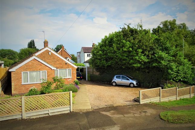 Thumbnail Detached bungalow for sale in The Green, Anstey, Leicester
