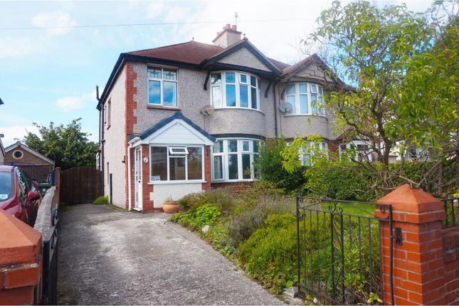 Thumbnail Semi-detached house for sale in Pendyffryn Road, Rhyl