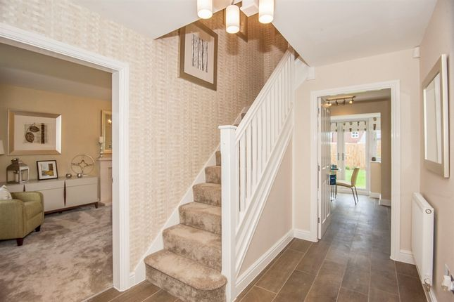 Thumbnail Town house for sale in Cobbleston Drive, Off William Nadin Way, Swadlincote