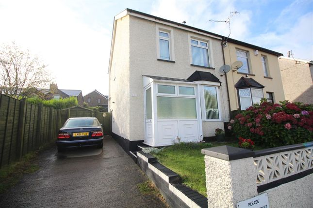 Thumbnail Semi-detached house for sale in Station Road, Griffithstown, Pontypool