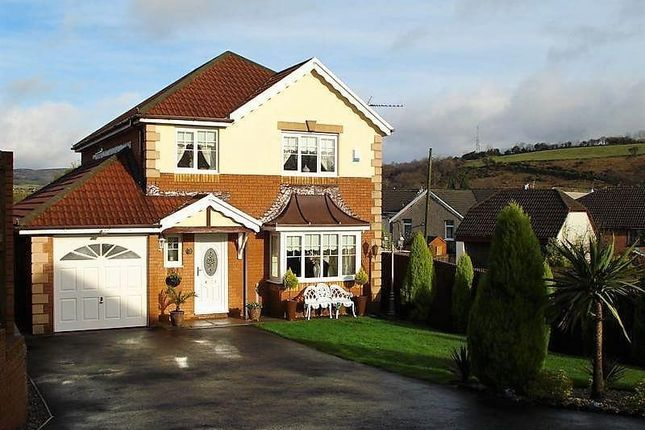 Thumbnail Detached house for sale in Swyn Y Nant, Porth