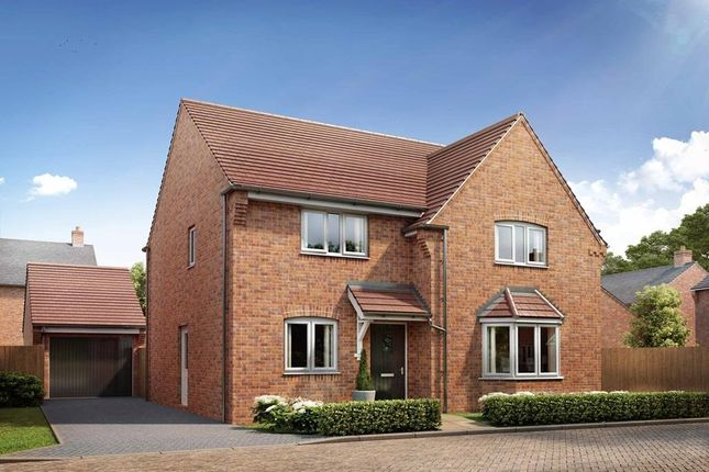 "Thumbnail Detached house for sale in ""Cambridge"" at Broughton Crossing, Broughton, Aylesbury"