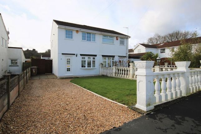 Thumbnail Semi-detached house for sale in Tynant, Penpedairheol, Hengoed