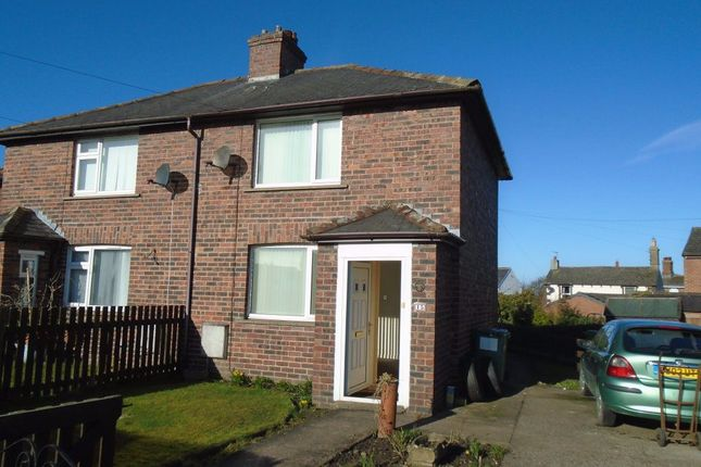 Thumbnail Semi-detached house to rent in Brackenlands, Wigton, Cumbria