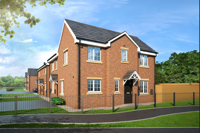 2 bed semi-detached house for sale in The Dane, Shaw Close Off Bromley Road, Congleton, Staffordshire