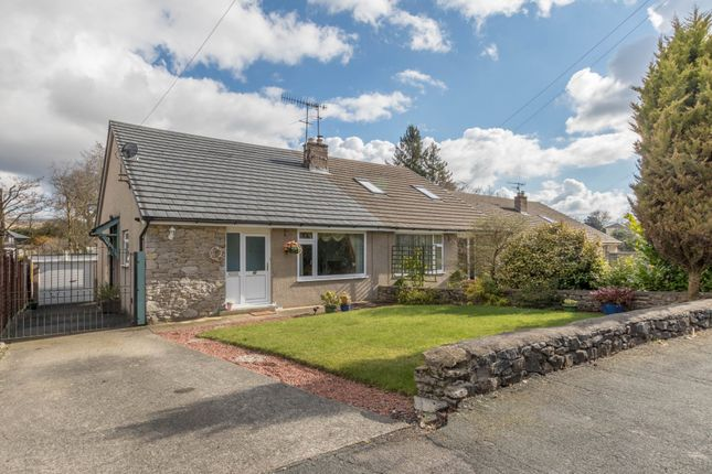 Thumbnail Semi-detached bungalow for sale in Fairgarth Drive, Kirkby Lonsdale, Carnforth