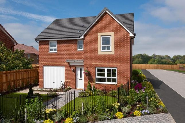 "Thumbnail Detached house for sale in ""Ripon"" at Tiber Road, North Hykeham, Lincoln"