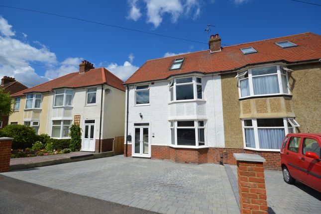 Thumbnail Semi-detached house for sale in Wells Road, Cheriton, Kent