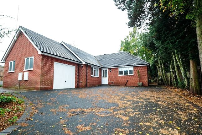 Thumbnail Detached bungalow to rent in Pershore Road, Kidderminster, Worcestershire.