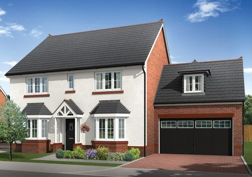 Thumbnail Detached house for sale in The Mellor, Sandy Lane, Chester, Cheshire