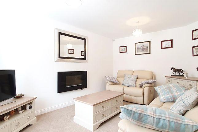 Lounge of Choyce Close, Hugglescote, Leicestershire LE67